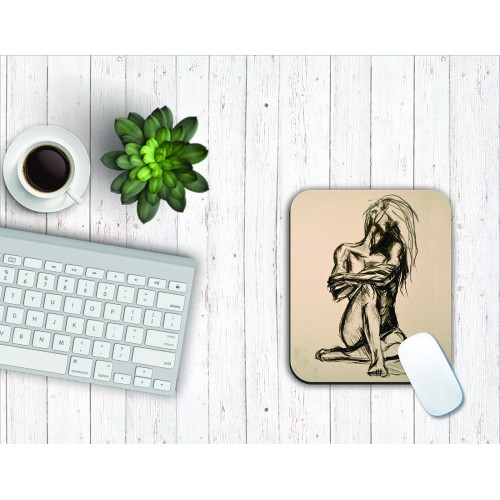 Fantaboy Abstract Art Mouse Pad